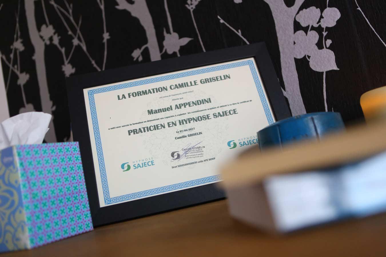 Manuel Appendini, hypnothérapeute en Vendée 85, Olonne sur mer